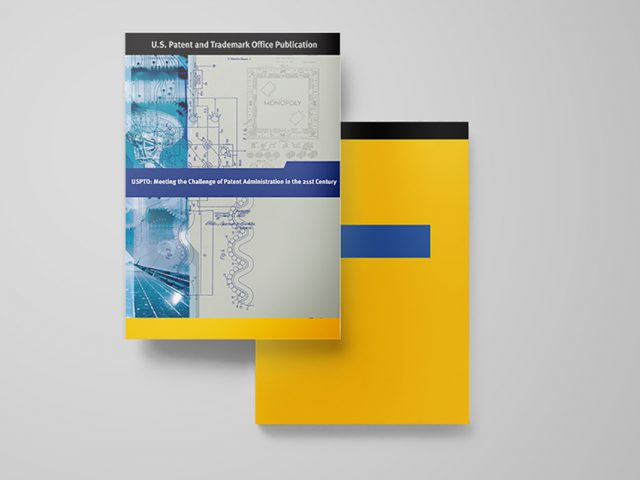 USPTO Meet the Challenge Book Covers