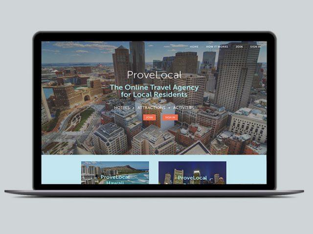 Provelocal Website Design