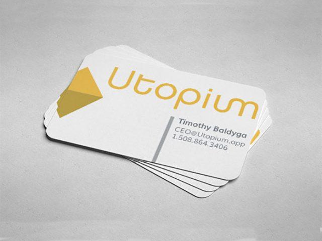 Utopium Brand Mark